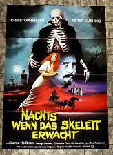 NACHTS WENN DAS SKELETT ERWACHT /Creeping Flesh - A1-FILMPOSTER -Christopher Lee