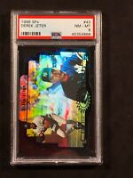 1996 SPX Derek Jeter PSA 8, #43 Hall Of Fame, New York Yankees