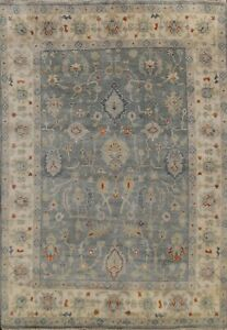 Traditional Geometric Oushak Oriental Hand-knotted Wool Area Rug Home Decor 8x10