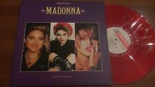MADONNA THE EARLY YEARS RED COLOR VINYL LP GATEFOLD SLEEVE MINT