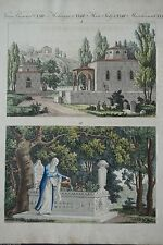 Original-Kupferstiche (1800-1899) aus der Türkei mit Landschaftsmotiven