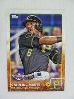 Starling Marte Pittsburgh Pirates 2015 Topps Baseball Card 8