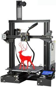 Imprimante 3D Creality Ender-3 FDM haute précision Impression 220x220x250mm