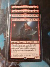 4 x Torbran, Thane of Red Fell - Throne of Eldraine -MTG- Magic the Gathering NM