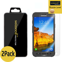 [2-PACK] SOINEED Samsung [Galaxy S7 Active] G891 Tempered Glass Screen Protector