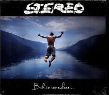 STEREO - BACK TO SOMEWHERE - DIGIPACK CD ALBUM NEW SEALED
