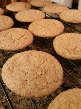 Gluten Free Ginger Spice Cookies- Homemade - One Dozen