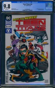 Teen Titans 20 (DC) CGC 9.8 White Pages 1st full appearance of Crush, Roundhouse