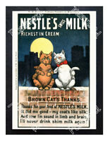 Historic Nestle's Swiss Milk 1900s Advertising Postcard