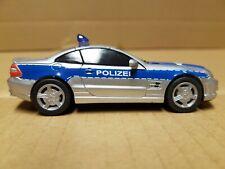Modellauto 1:43 Mercedes Polizei (neuwertig)