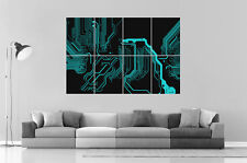 TRON CIRCUIT Wall Art Poster Grand format A0 Large Print