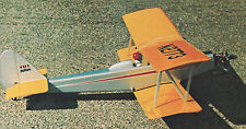 Vintage Honker Bipe Sport & Aerobatic Biplane Plans,Templates, Instructions 36ws