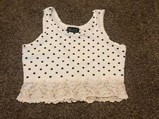 Juniors Crop Top By Filati Size M Preowned