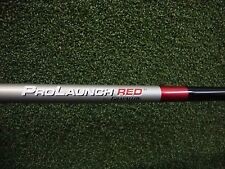 New Grafalloy Prolaunch Red Graphite Driver Shaft Regular Flex