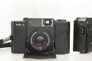 Voigtländer VITO C + Color Skopar  2,8/ 38mm + extra Flash Voigtländer VCS 18