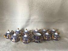 Miniature porcelain mixed lot 11 items.