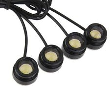 4in1 6W Saving Strobe Flash Eagle Eye LED Practical Car Light With Remote