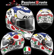 Helmet Agv K3 Sv Comic casque moto integral helm size MS