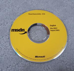 MSDN Disc 0957 Augusta 2001 Visual SourceSafe 6.0c
