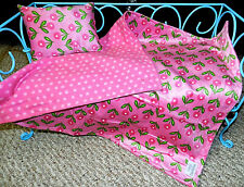 Doll Blanket & Matching Pillow, My Life, Our Generation, American Girl, Soft!