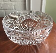 """Waterford Crystal~~8"""" Salad Bowl~~Master Cutter Collection"""