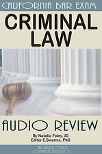 CRIMINAL LAW , Summary Audio Review