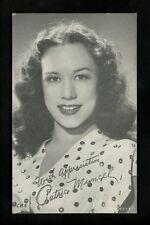 Movie / TV Star Cinema Vintage postcard Patrice Munsel actress