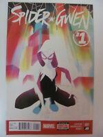 Spider-Gwen #1 Marvel Comics 2015 Series 1st Series 9.6 Near Mint+