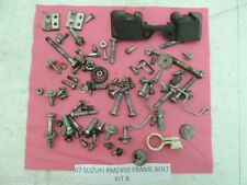 07 SUZUKI RMZ450 RMZ 450 RM-Z450 RM-Z FRAME BOLTS KIT MISC NUT BOLT PARTS ETC B