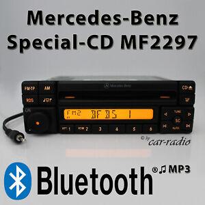 Mercedes Special MF2297 Bluetooth MP3 Radio AUX-IN Klinke 1-DIN CD Autoradio