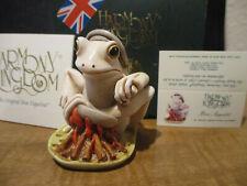 Harmony Kingdom Bon Appétit Frog Legs Uk Made Box Figurine Le 600 Rare Sgn