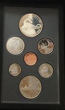 Canada 1986 Proof Set Vancouver Centennial Silver Dollar