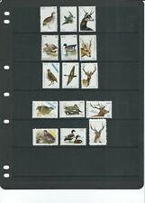 AUSTRALIA VICTORIA 1973-77 5 sets of FISH and WILDLIFE stamps *CINDERELLA*
