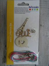 Kit de fabrication bijoux : colliers, bracelets, breloques ARTEMIO NEUF/EMBALLE
