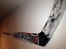 Goalie Hockey Stick Display / Wall Mount / Hanger for game-used goalie sticks