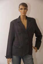 Damen dünne Jacke grau Größe 44 Damenjacke Herbst (1712C-PA-OH3#) 04/2020