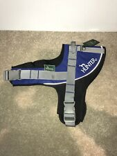 BRAND NEW WITH TAGS BLUE AND BLACK DOG HARNESS ~ SIZE XL 71cm - 80cm