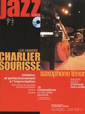 Charlier Sourisse Jazz Saxo Tenor Saxofón baladas jugar Libro De Música Melodías Canciones