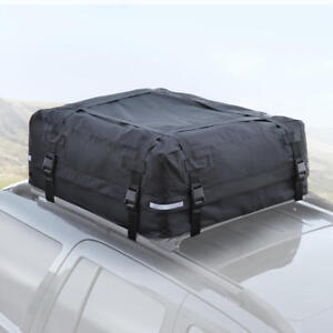 16 CU FT Rooftop Cargo Carrier for Luggage Travel Storage - Easy Installation