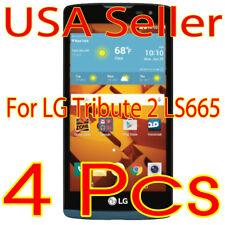 4x Screen Protector LCD Guard Saver Film for LG Tribute 2 Ls665 (2016)