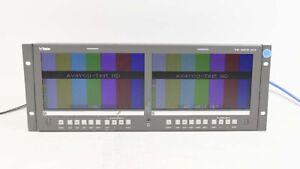 "Wohler RM-4290W-2HD Dual 9"" inch LCD HD/SD-SDI Monitor"