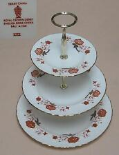 "Royal Crown Derby ""BALI"" (1967) tre Tier Cake stand"