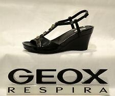 Scarpe donna Sandali GEOX ROXY D1196E  C.NERO  35  41 PELLE
