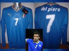 Italy BNWT Del Piero Player Spec Shirt Puma Adult XL Soccer Jersey Italia Maglia