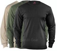 Long Sleeve Tees T-Shirt Military Tactical Long Sleeve Shirts Black Olive Sand