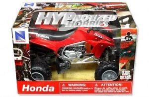 NEWRAY 1:12 ATV 2009 HONDA TRX450R RED 57093A