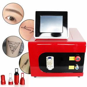 Sopracciglio lavatrice,LCD macchina di rimozione del tatuaggio laser picosecondi