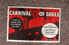Carnival of Souls Lobby Card Movie Poster Candace Hilligoss Sidney Berger