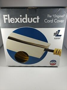 """NEW IN BOX Flexiduct The """"Original"""" Cord Cover - 6FT long; 5/16IN Thick; Yellow"""