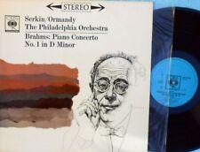 Serkin/ Ormandy ORIG OZ LP Brahms: Piano concerto No.1 in D minor NM CBS '62